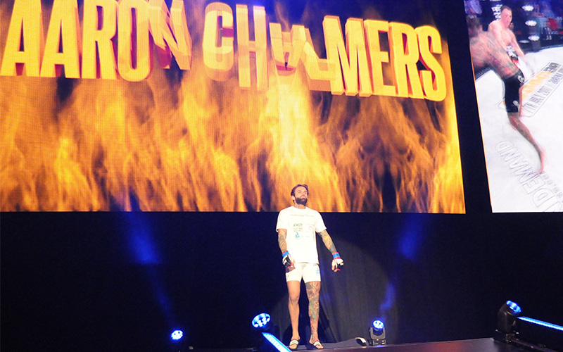Aaron Chambers at BAMMA 31 Wembley