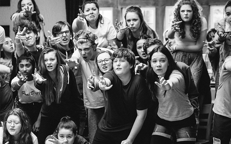 Les Mis rehearsals pic 1
