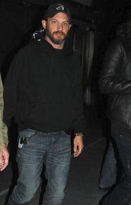 Tom Hardy at BAMMA 31