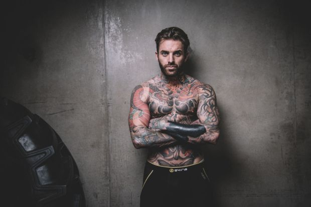 Aaron Chalmers MMA Pre-Fight Workout Photocall