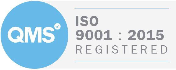QMS ISO 9001 : 2015 Registered